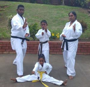 Karate  family